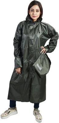 GoldCartz Solid Men & Women Raincoat