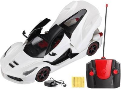 AR Enterprises Ferrari Style R/C Open Door & Dicky Chargeable 1:16 Model Car(White)  available at flipkart for Rs.775