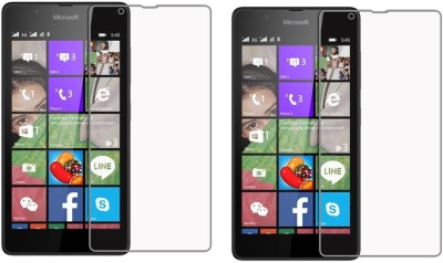 Cowboy Tempered Glass Guard for Nokia Lumia 530(Pack of 2)