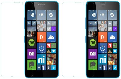 Loopee Tempered Glass Guard for Nokia X(Pack of 2)