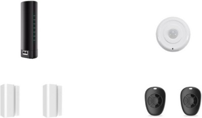 Wynbee WIFI Home Security Alarm System DIY KIT with Easy App for IOS Android Smartphone including PIR Motion Sensor,Door/Window Contact Sensor, Wireless Remote Controller Wireless Sensor Security Syst at flipkart