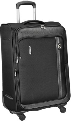 VIP unicorn x 56 cms Expandable  Cabin Luggage - 22 inch(Black)