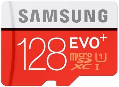 Samsung Ultra HD 128 GB MicroSDXC Class 10 95 MB/s Memory Card