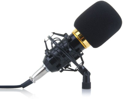 MobFest Collar Mike for Voice Recording Recording(Black)