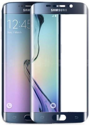 PAV Tempered Glass Guard for Samsung Galaxy S6 Edge Plus - Blue(Pack of 1)