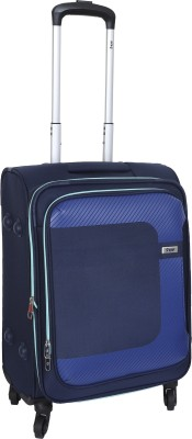 VIP Cannon Expandable  Cabin Luggage - 22 inch(Blue)