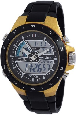 Maxima 49070PPAN  Analog-Digital Watch For Men