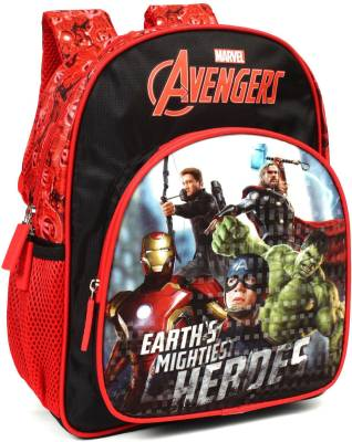 Marvel Avengers Earth's Mightiest Heroes 12' ' School Bag