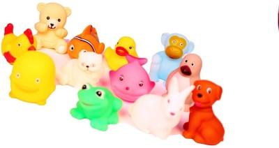 spincart chu chu soft bath toys Bath Toy(Multicolor)