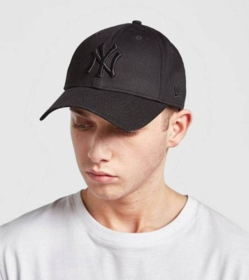BOLAX Solid Stylish Embroidered Solid Black Baseball Cap Cap