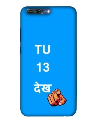 99Sublimation Back Cover for Honor 9 Lite, Honor 9 Lite, Huawei Honor 9 Youth, Huawei Honor 9 Youth Edition(Tu Tera Dekh, Plastic)