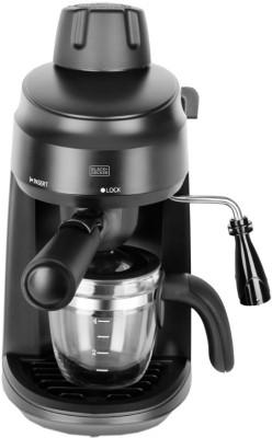 Black & Decker BXCM0401IN 4 Cups Coffee Maker(Black)