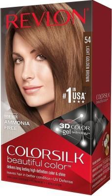 0b4f895fd80 Buy Revlon Colorsilk Beautiful Color Hair Color (Brown) Online at ...