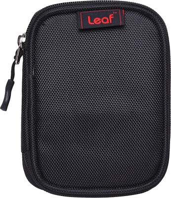 Leaf Elite Slim 3.0 2.5 Hard Disk Pouch(For External Hard Disk, Black)