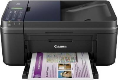 Canon E 480 Colour Wifi Multifunction Inkjet Black Printer