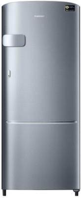 Samsung 192 L Direct Cool Single Door 3 Star Refrigerator(Elegant Inox, RR20N1Y2ZS8-HL/RR20N2Y2ZS8-NL)