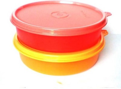 Tupperware 001011974352 Plastic Bowl Set(Yellow, Pink, Pack of 2)  available at flipkart for Rs.400