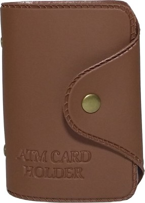 Rosset comfortable 12 card holder 10 Card Holder(Set of 1, Brown)