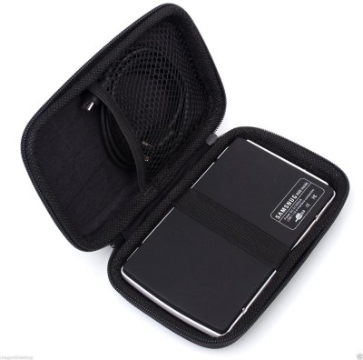 Multybyte WD Pouch 2.5 inch Case / Pouch(For All Type of 2.5 inch External Hard Drive, Black)