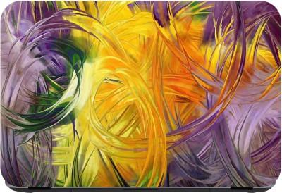 Flipkart SmartBuy canvas painting modern art Premium LG Vinyl (matte) Laptop Decal 14.1  available at flipkart for Rs.179