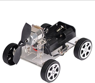 MonkeyJack Diy Wind Power Car Science Educational Learning Toy Kit For Children Toys(Multicolor)  available at flipkart for Rs.991