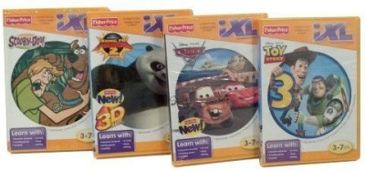 Fisher-Price Ixl Learning System Featuring Scooby Doo - 4 Game Bundle(Multicolor)  available at flipkart for Rs.4082
