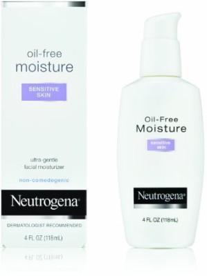 Neutrogena Oil Free Sensitive Skin Moisturer Lotion (4Oz)