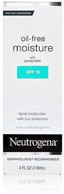 Neutrogena SPF 15 Oil Free Moisture With Sunscreen (4Oz)