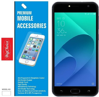 BigChoice Tempered Glass Guard for Asus Zenfone 4 Selfie(Pack of 1)