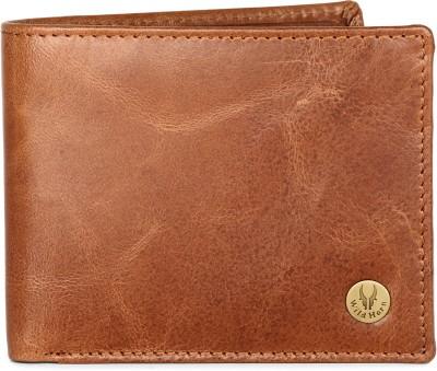 WildHorn Men Tan Genuine Leather Wallet