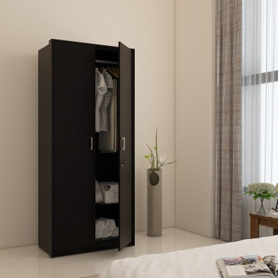 Spacewood Optima Engineered Wood 3 Door Wardrobe(Finish Color - Natural Wenge woodpore)