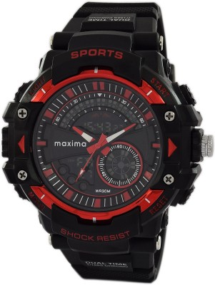 Maxima 47872PPAN  Analog-Digital Watch For Men