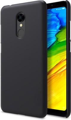 TheGiftKart Back Cover for Mi Redmi Note 5 Black