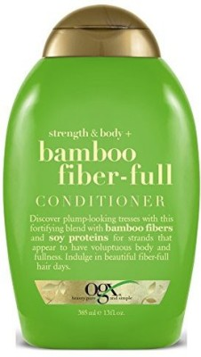 Organix Ogx Conditioner Bamboo Fiber- Full 13 Ounce (384Ml) (2 Pack)(384 ml)