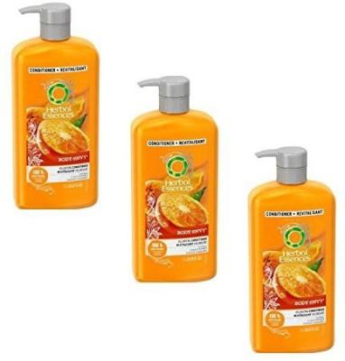 Herbal Essences Body Envy Volumizing Conditioner, 33.8 Oz (Pack Of 3)(1000 ml)