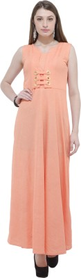 AAKRITHI Women Fit and Flare Pink Dress