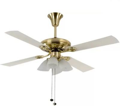 Usha Fontana Lotus 4 Blade 4 Blade Ceiling Fan(Gold)  available at flipkart for Rs.6699