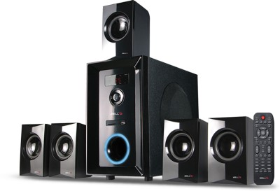 iBELL IBL 2049 DLX 5.1 Home Theater Multimedia Speaker System with FM Stereo, Bluetooth, USB/SD/MMC/AUX Functions. Home Theatre(Black, 5.1 Channel)