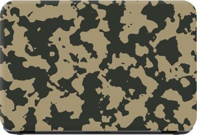 Flipkart SmartBuy army pattern Premium LG Vinyl (matte) Laptop Decal 15.6