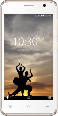 Karbonn A9 Indian 4G VoLTE (White & Champagne, 8 GB)(1 GB RAM)