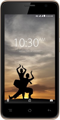 Karbonn A9 Indian 4G VoLTE (Black & Champagne, 8 GB)(1 GB RAM)
