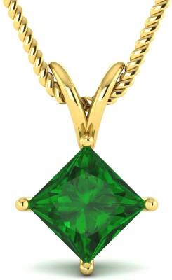 Kataria Jewellers The Ottillia Yellow Gold Plated BIS Hallmarked 14kt Yellow Gold Pendant