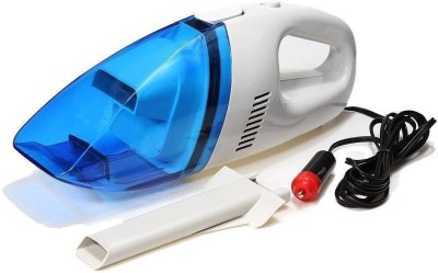 Simxen Portable 12V Car Vacuum Cleaner Handheld Mini Super Suction Wet And Dry Dual Use Vaccum Cleaner For Car Vacuum Cleaner(Blue, White)  available at flipkart for Rs.449