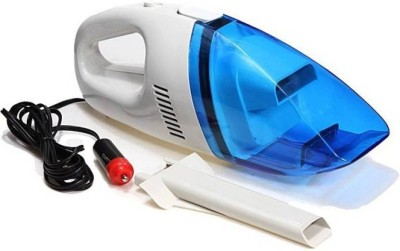 Kartsasta Dry Cleaning DC 12V Mini High Power Fully Portable & Light Weig Car Vacuum Cleaner(Blue, White)  available at flipkart for Rs.369