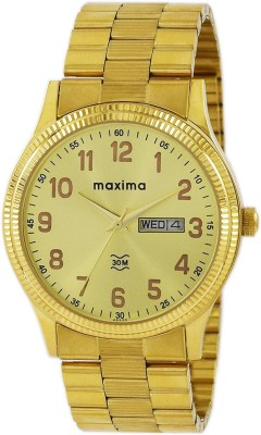 Maxima 45220CMGY  Analog Watch For Men