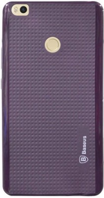 COVERNEW Back Cover for Mi Max Purple COVERNEW Plain Cases   Covers