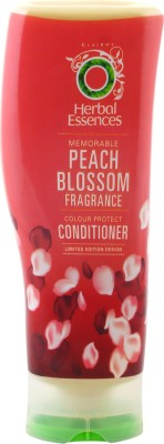 Herbal Essences Memorable Peach Blossom Colour Protect Conditioner (Made In UK) 400ml - Limited Edition Design(400 ml)