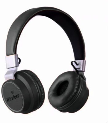 Skullcandy Premium Quality Bluetooth headphone Bluetooth Headset with Mic(Black, In the Ear)