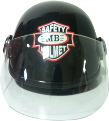 SPEEDYRIDERS O2 With Visor Helmet Motorbike Helmet(Black)  available at flipkart for Rs.549
