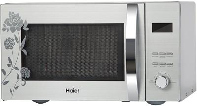 Haier 23 L Convection Microwave Oven(HIL2301CSSH, Silver)